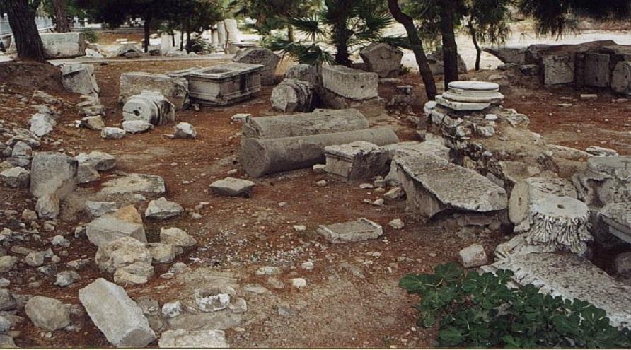 Monumente funerare descoperite in Tomis