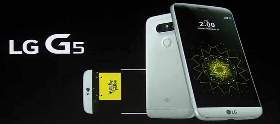LG G5 – concurentul direct al iPhone 7