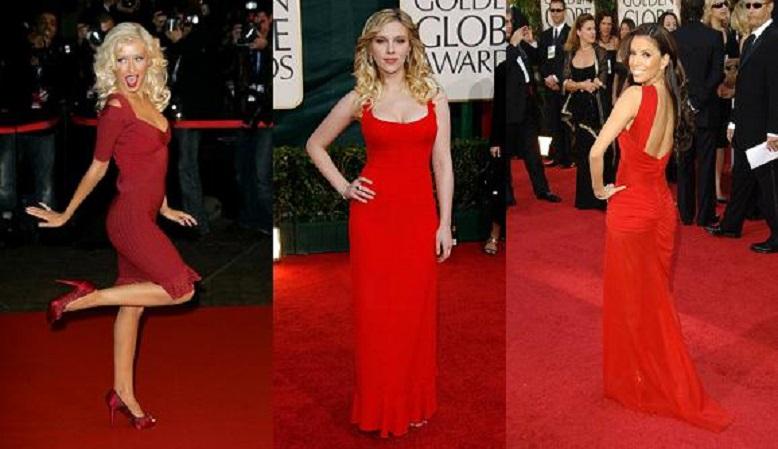 Sfaturi pentru a purta corect rochia rosie